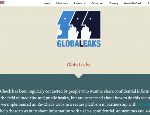 GlobaLeaks: new secure system to share information with Re-Check in a confidential manner